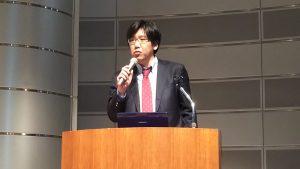 生貝直人(東洋大学准教授、デジタルアーカイブ学会理事)