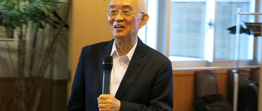 月尾嘉男氏(東京大学名誉教授)