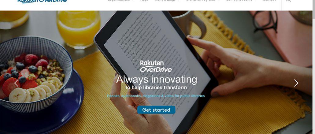 Rakuten OverDrive公式サイトには現時点でなにもお知らせが出ていない