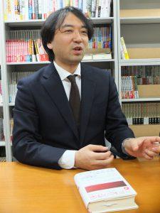 草思社 代表取締役社長 久保田創氏